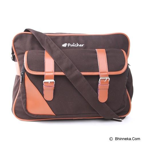 PULCHER Aquilla [I-02] - Brown - Sling-Bag Pria
